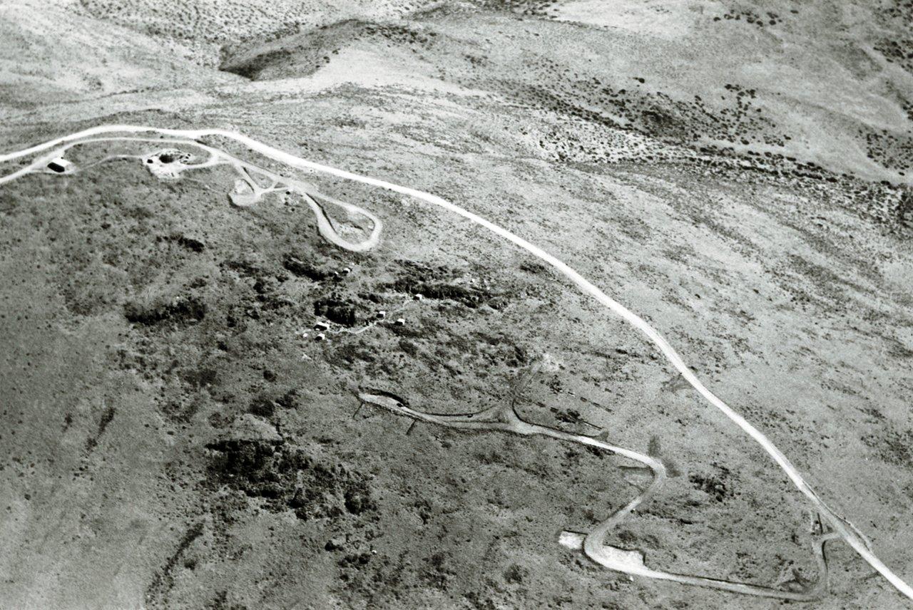 La Silla by air, 1966