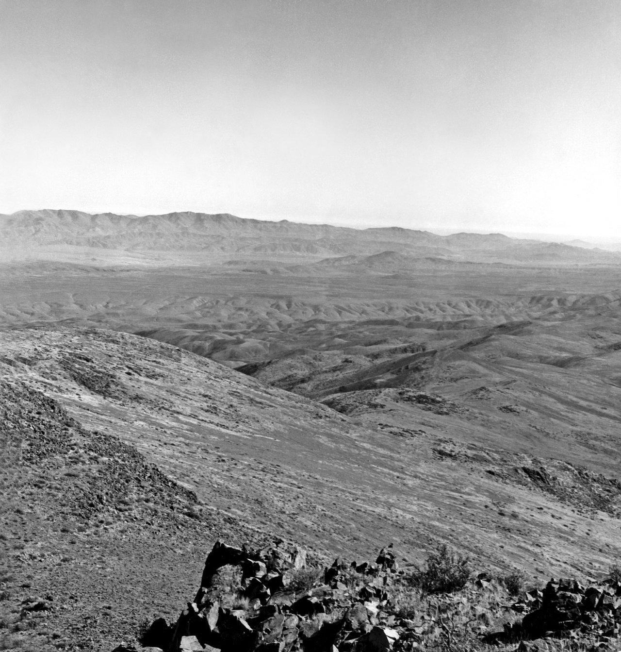 La Silla by air, 1964