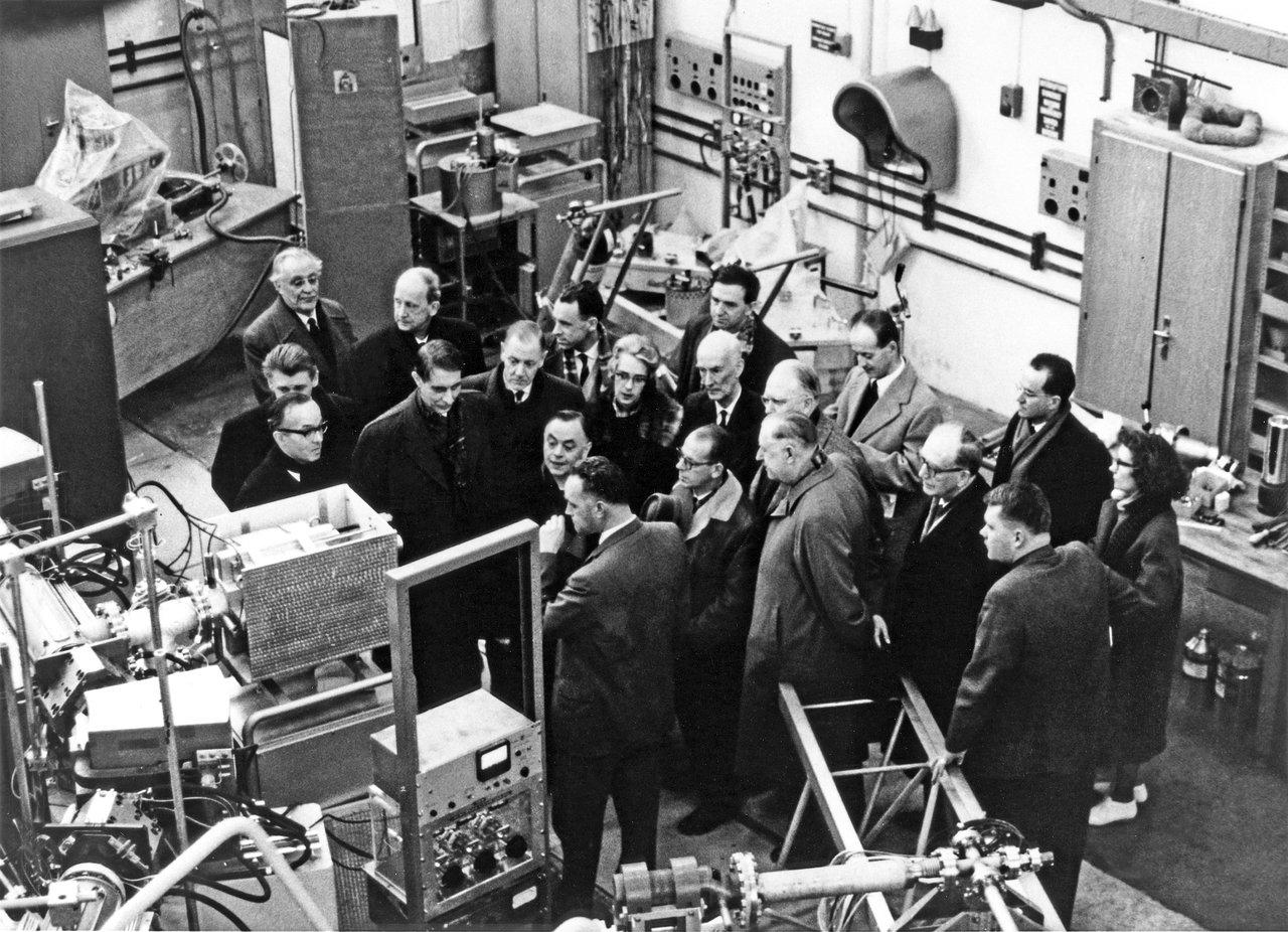 Touring labs at CERN