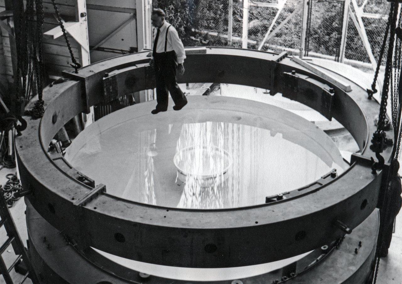 Making the ESO 3.6-metre telescope M1 Mirror