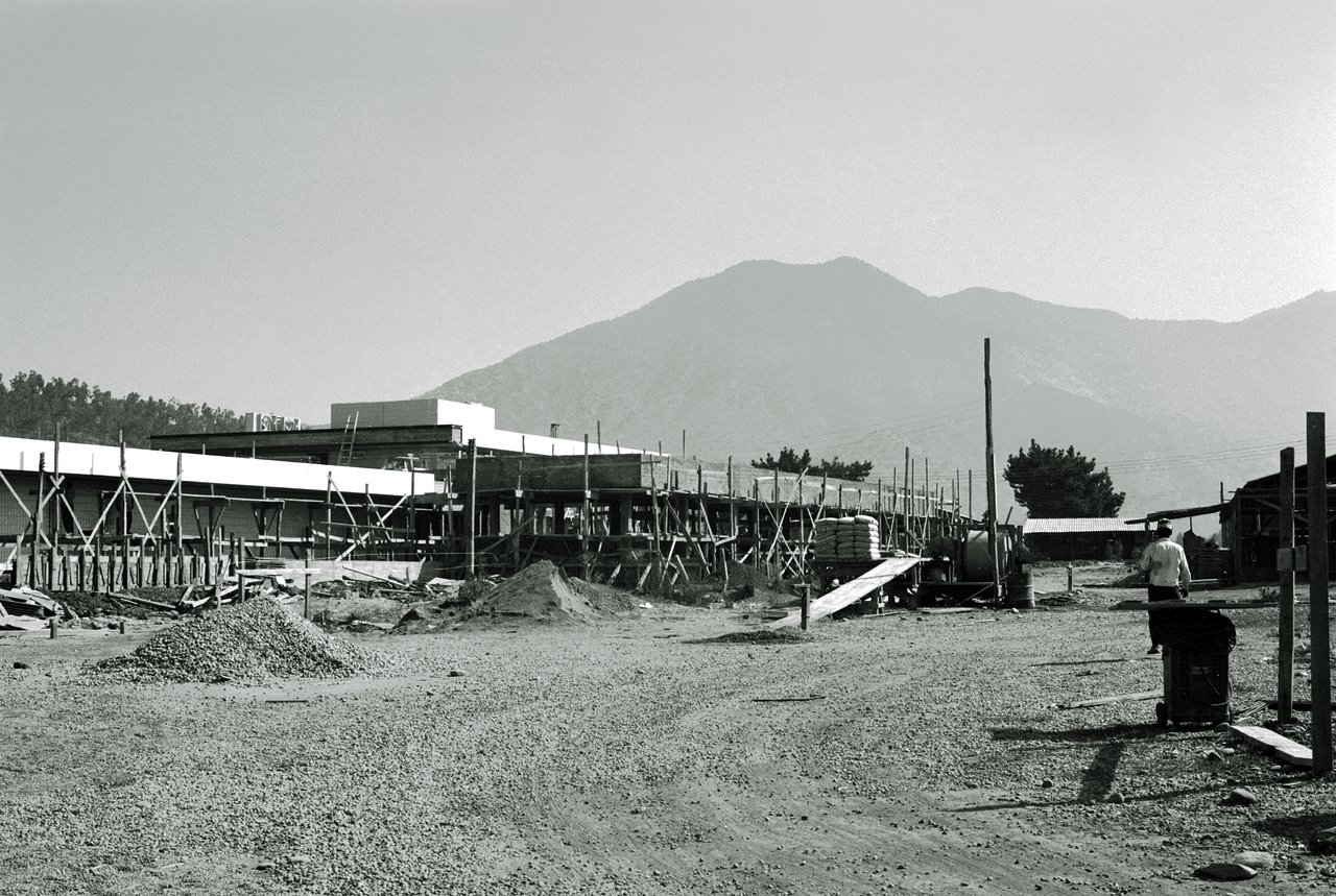 The Santiago office under construction