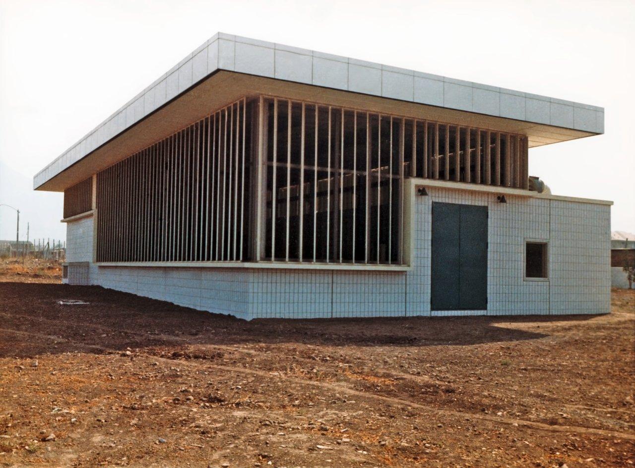 The Satellite Building at Vitacura in 1969