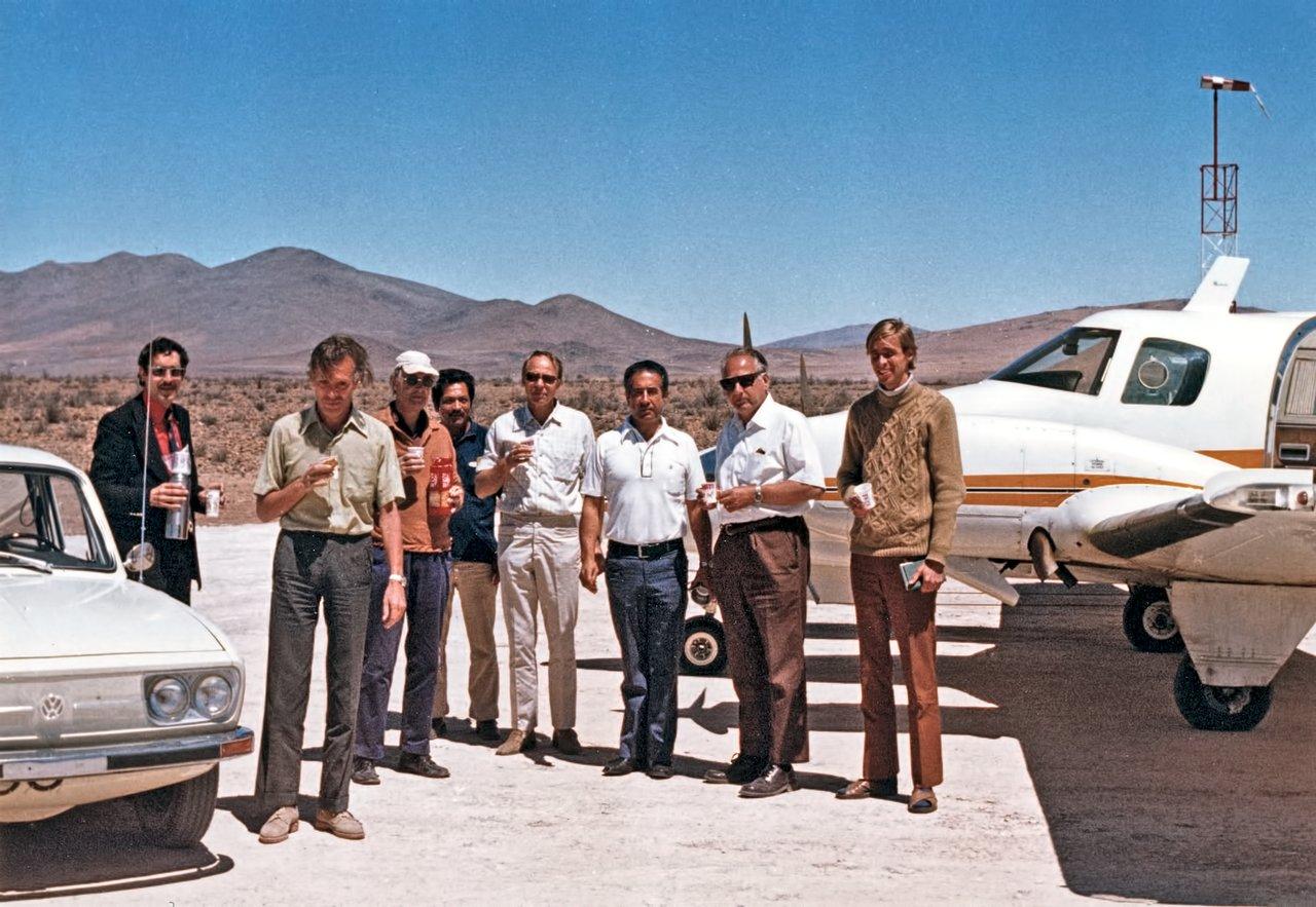 Inauguration of the Pelicano Airstrip