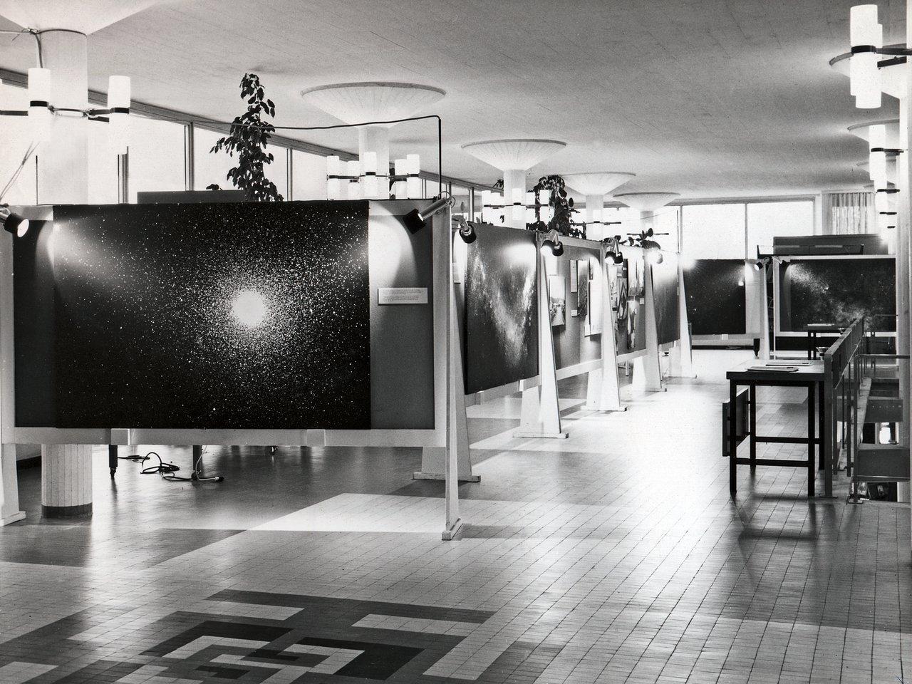 ESO exhibition at CERN