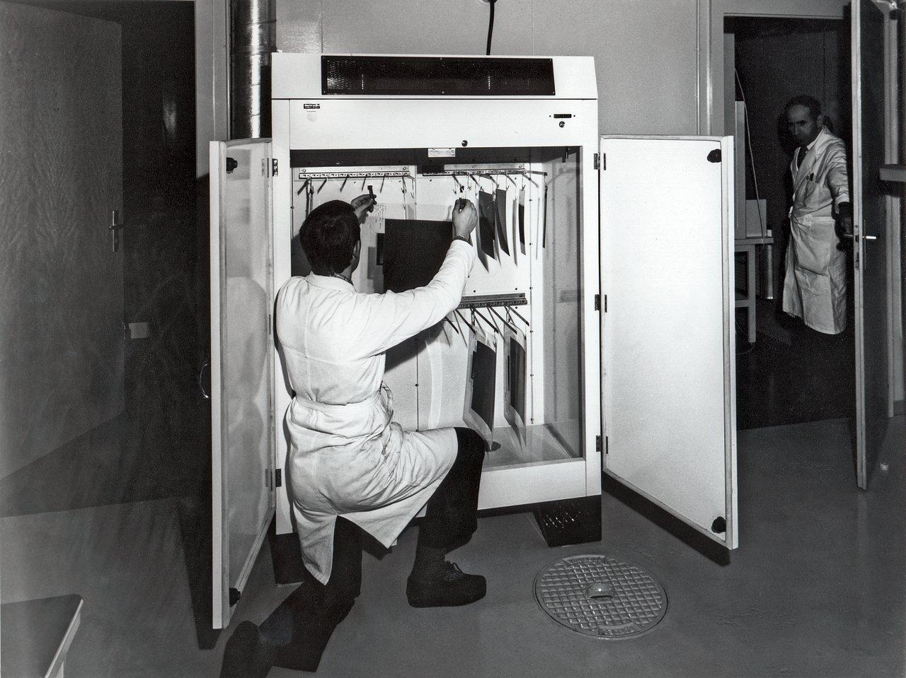 Bernard Pillier at the Sky Atlas Laboratory