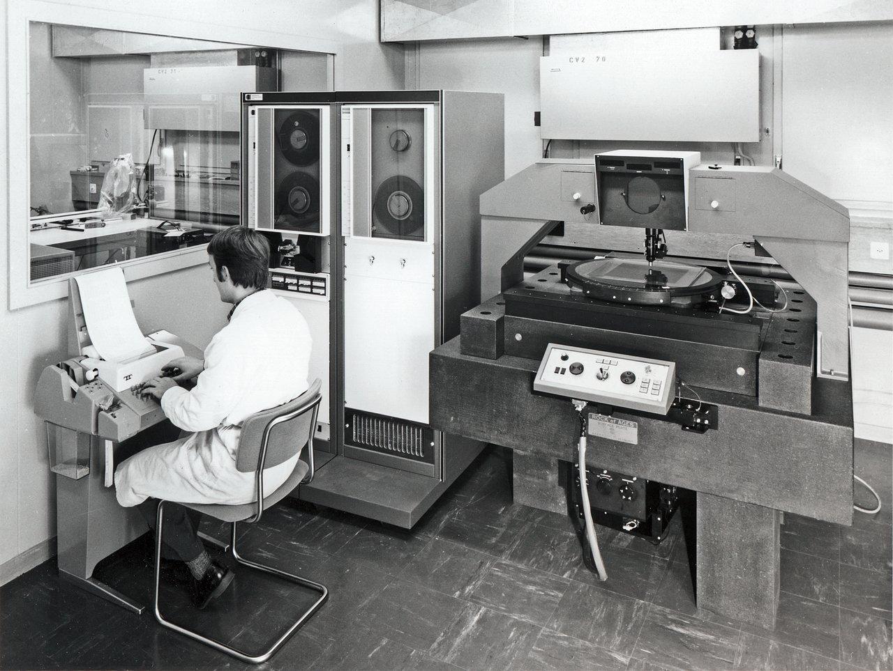 Plate Scanner at CERN
