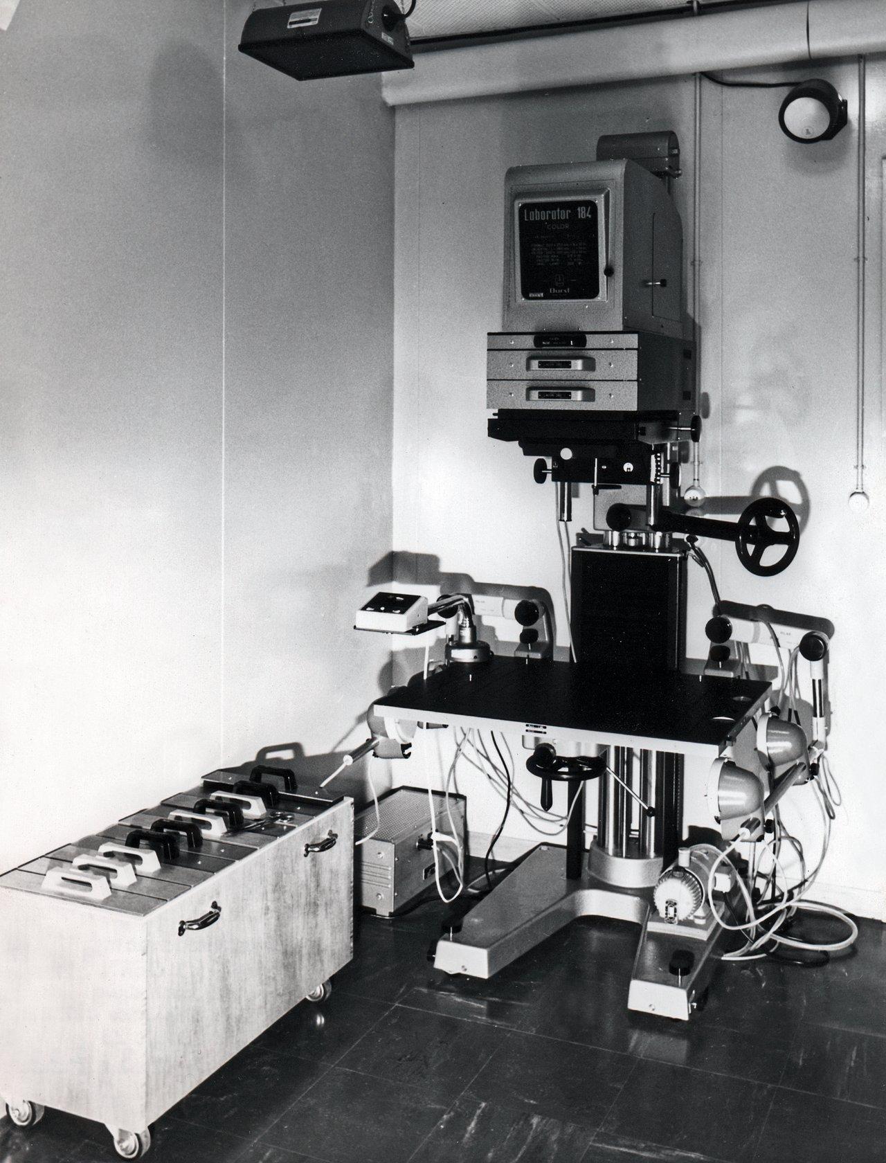 Atlas Laboratory in 1973