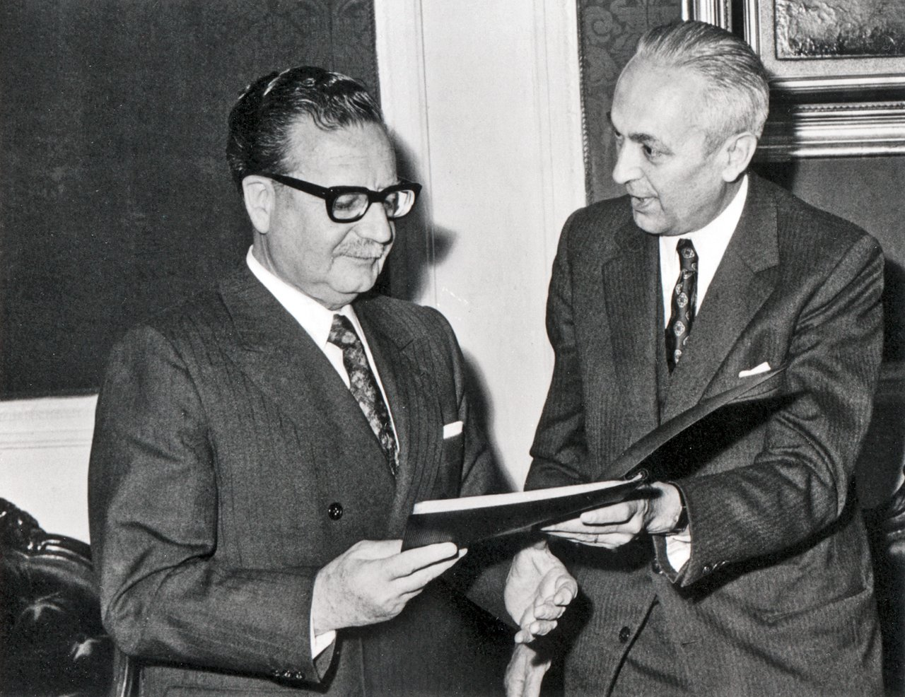 President Allende and the ESO Council President