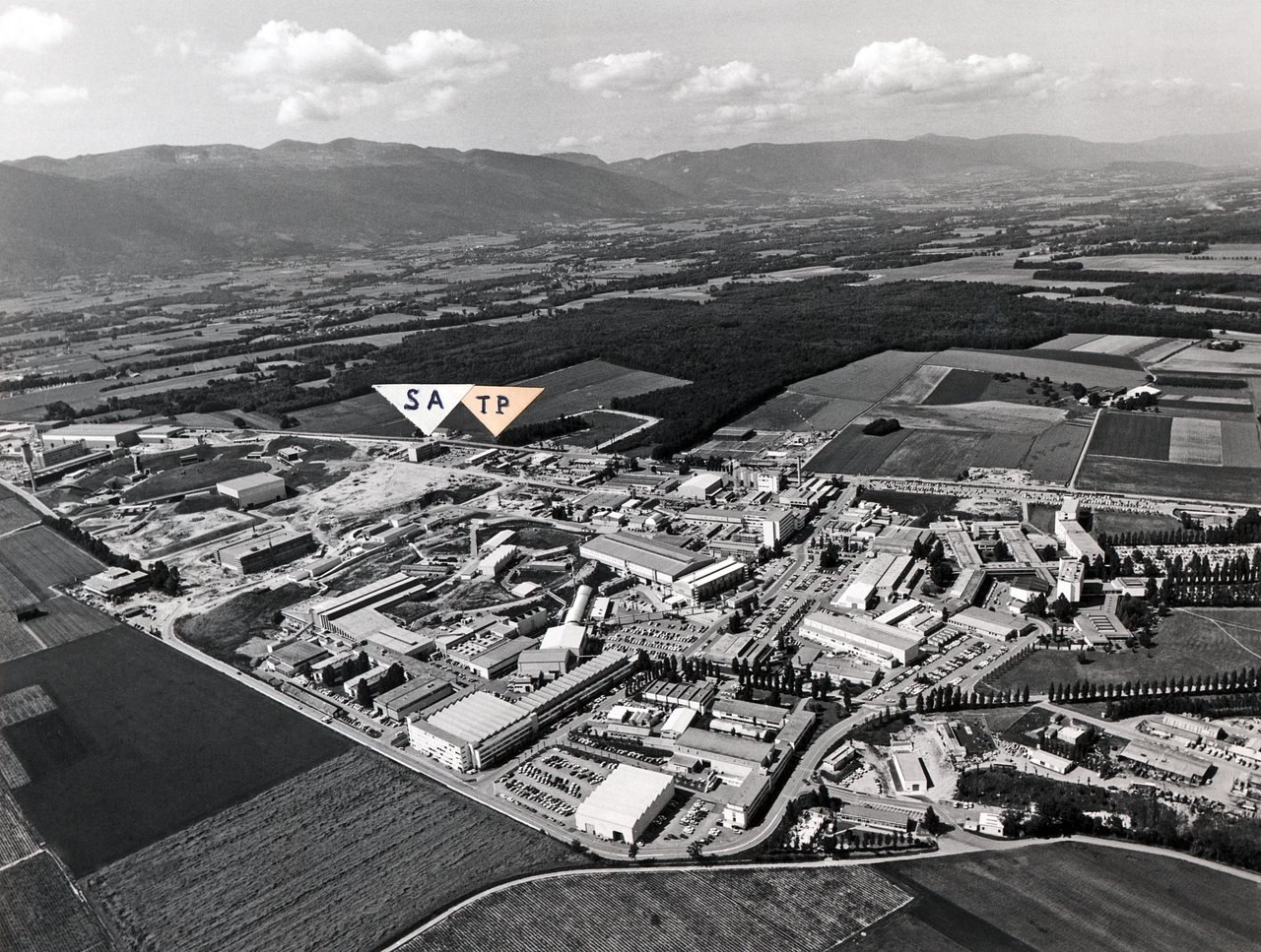 The CERN Complex near Geneva