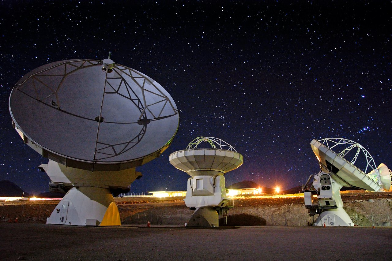 ALMA antennas ready for action