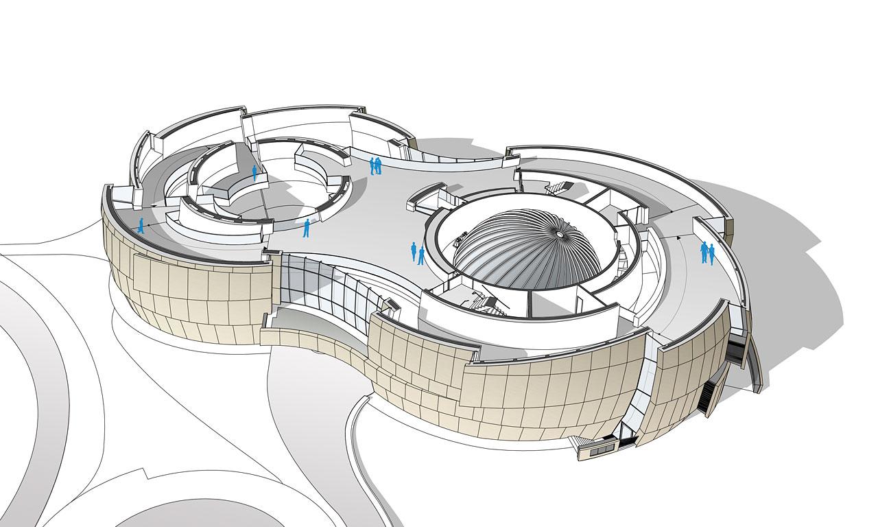 Eso Supernova Planetarium Amp Visitor Centre Second Floor Eso