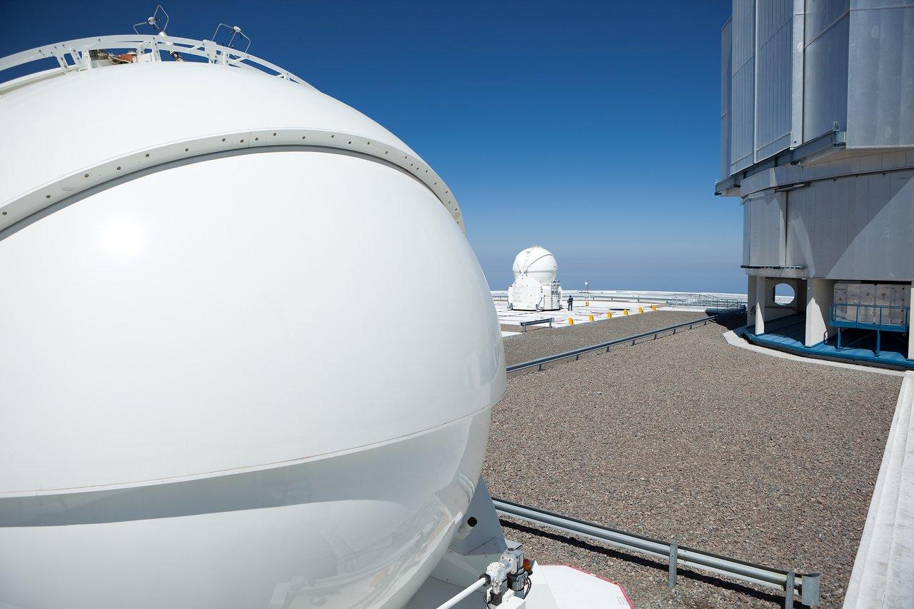Auxiliary Telescope at the VLT