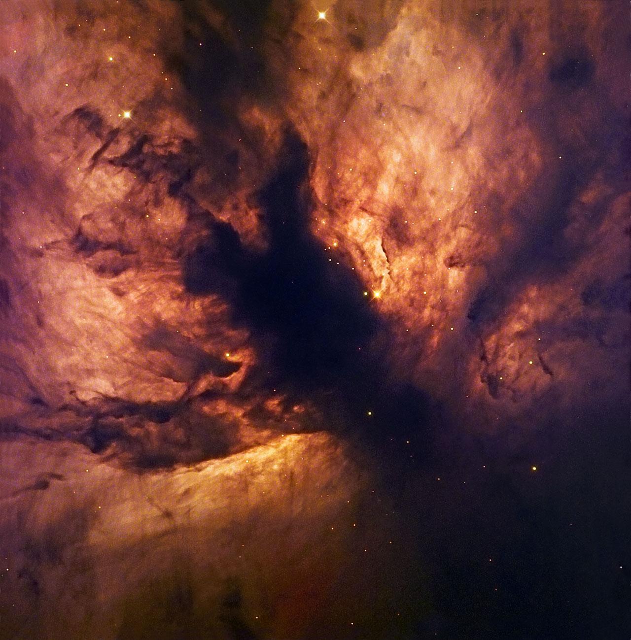 A Cosmic Flame