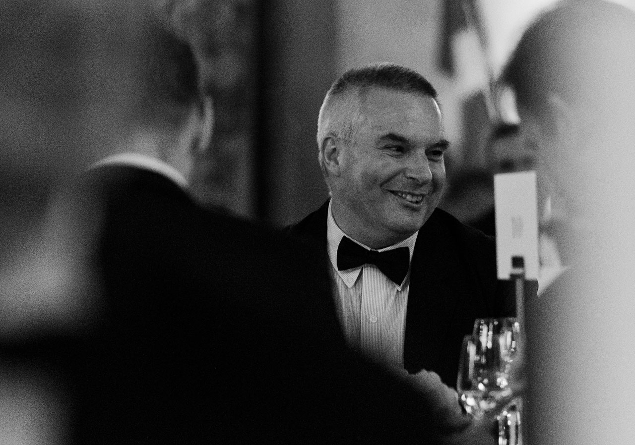 John Womersley at the ESO 50th Anniversary Gala Event