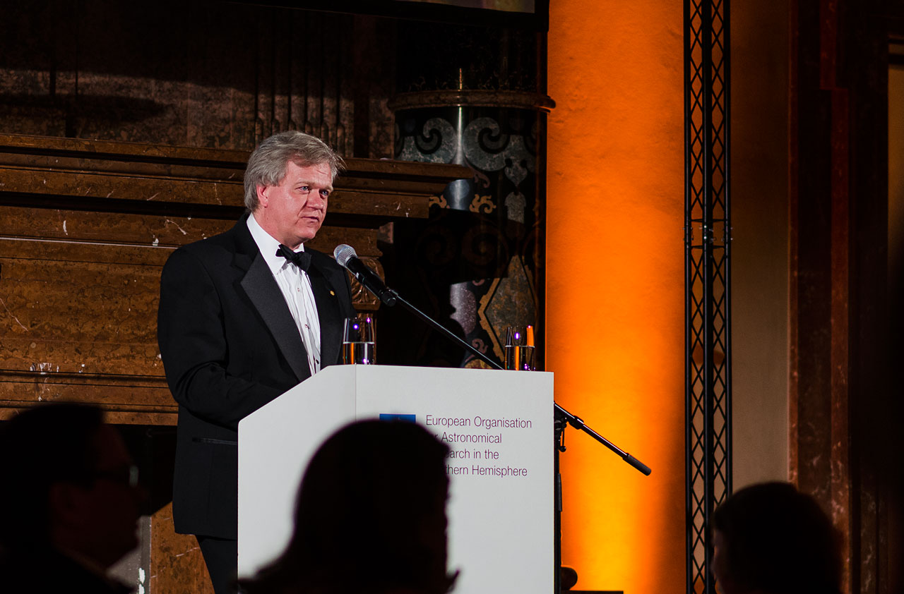 Brian Schmidt at the ESO 50th Anniversary Gala Event