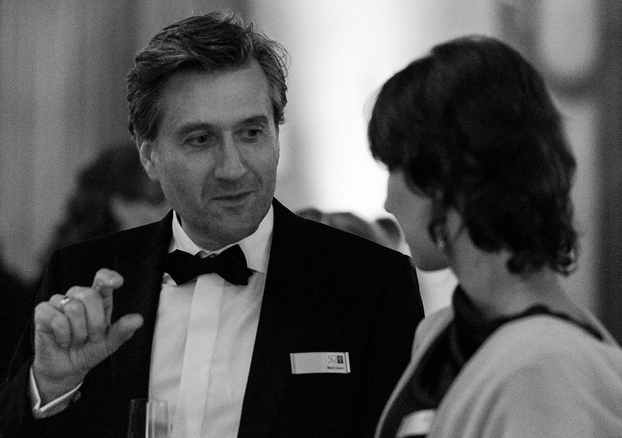 Mark Casali and Joana Correia at the ESO 50th Anniversary Gala Event