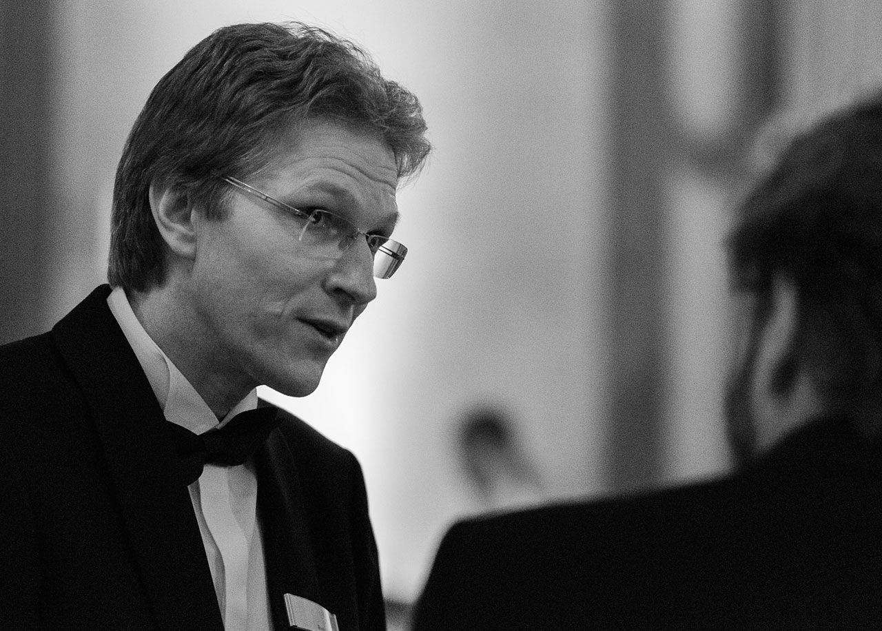 Bruno Leibundgut at the ESO 50th Anniversary Gala Event