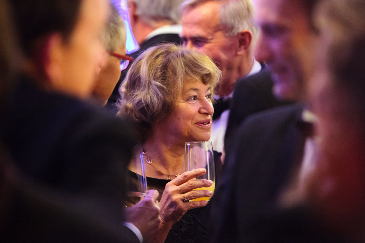 Catherine Cesarsky at the ESO 50th Anniversary Gala Event