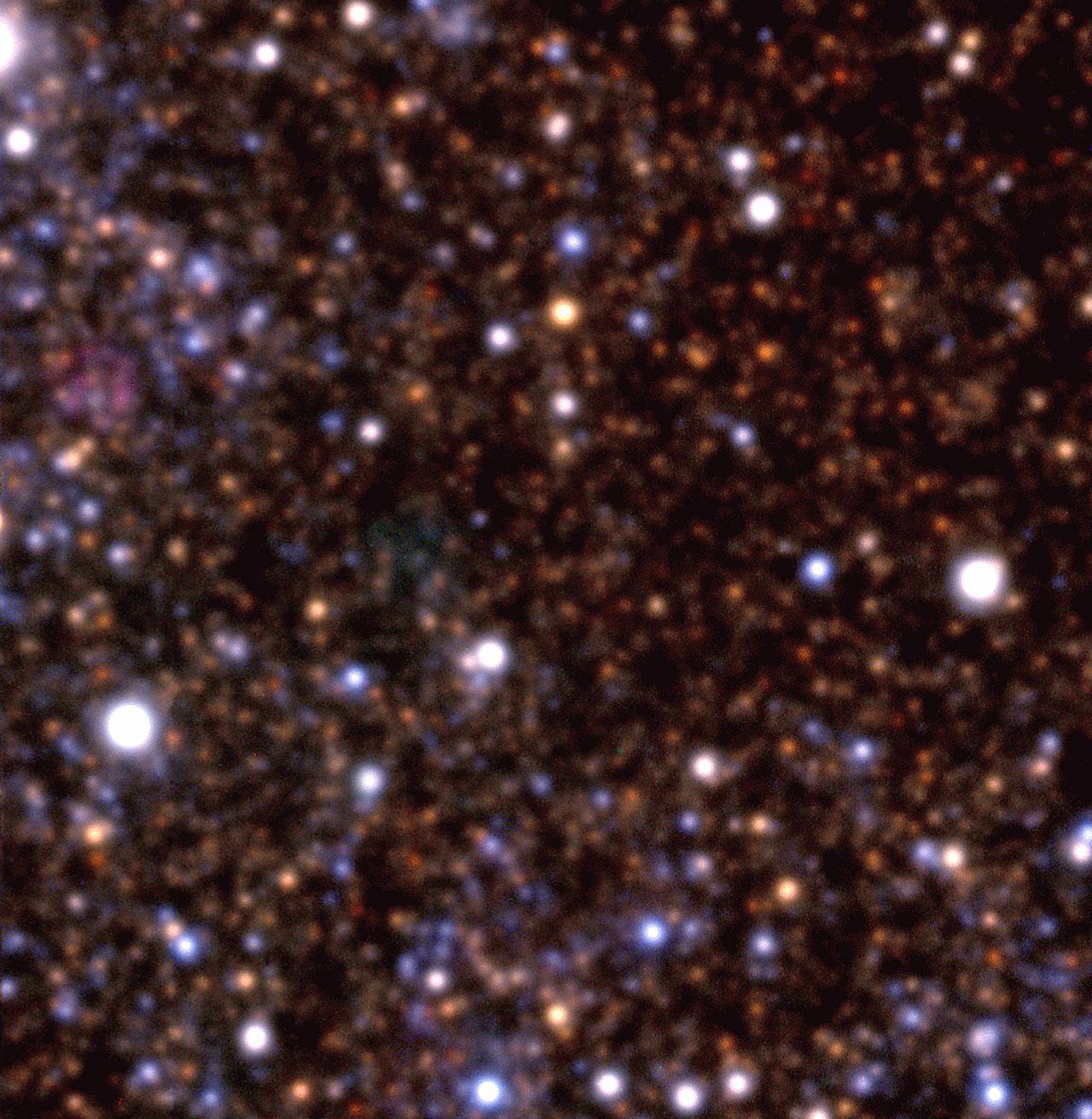 Field in Dwarf Galaxy NGC 6822