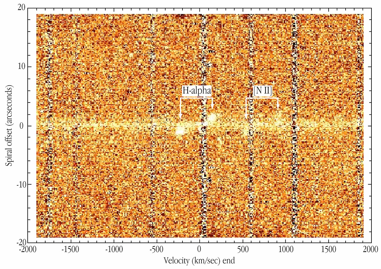 Infrared Spectrum of Spiral Galaxy ISOHDFS 27