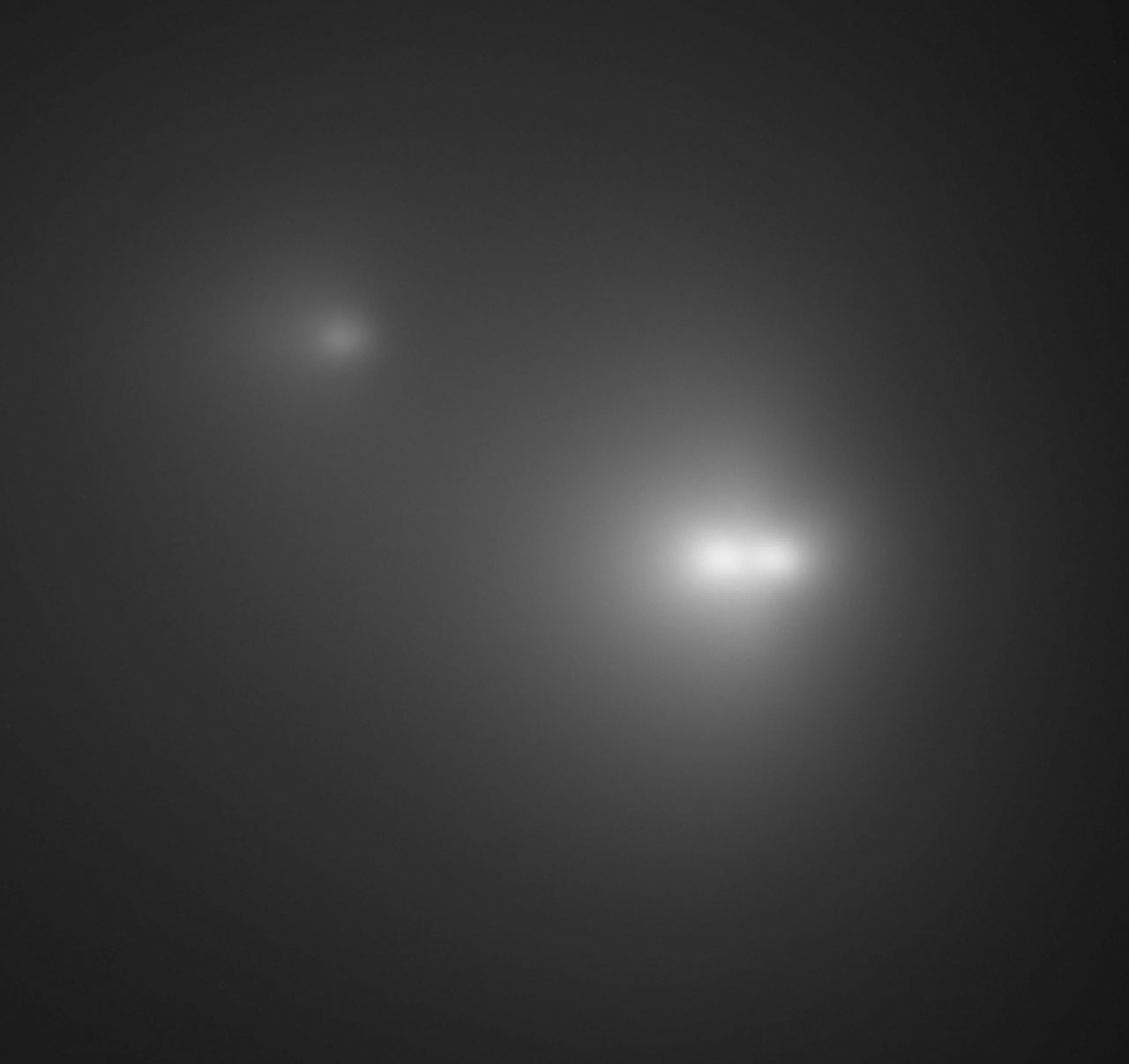 Three Nuclei of Comet LINEAR