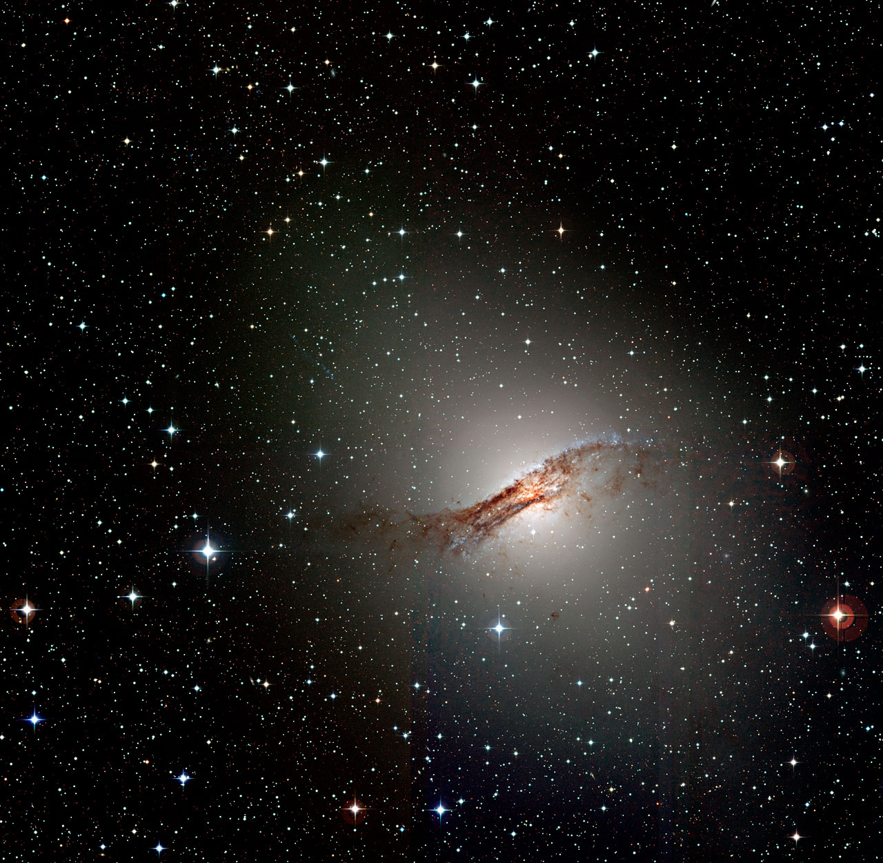 One Thousand Wonderful Stars Discovered In Centaurus A Eso