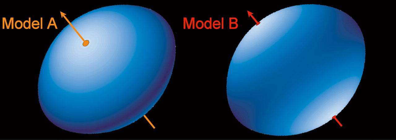 3-D Shape of Achernar (Models)