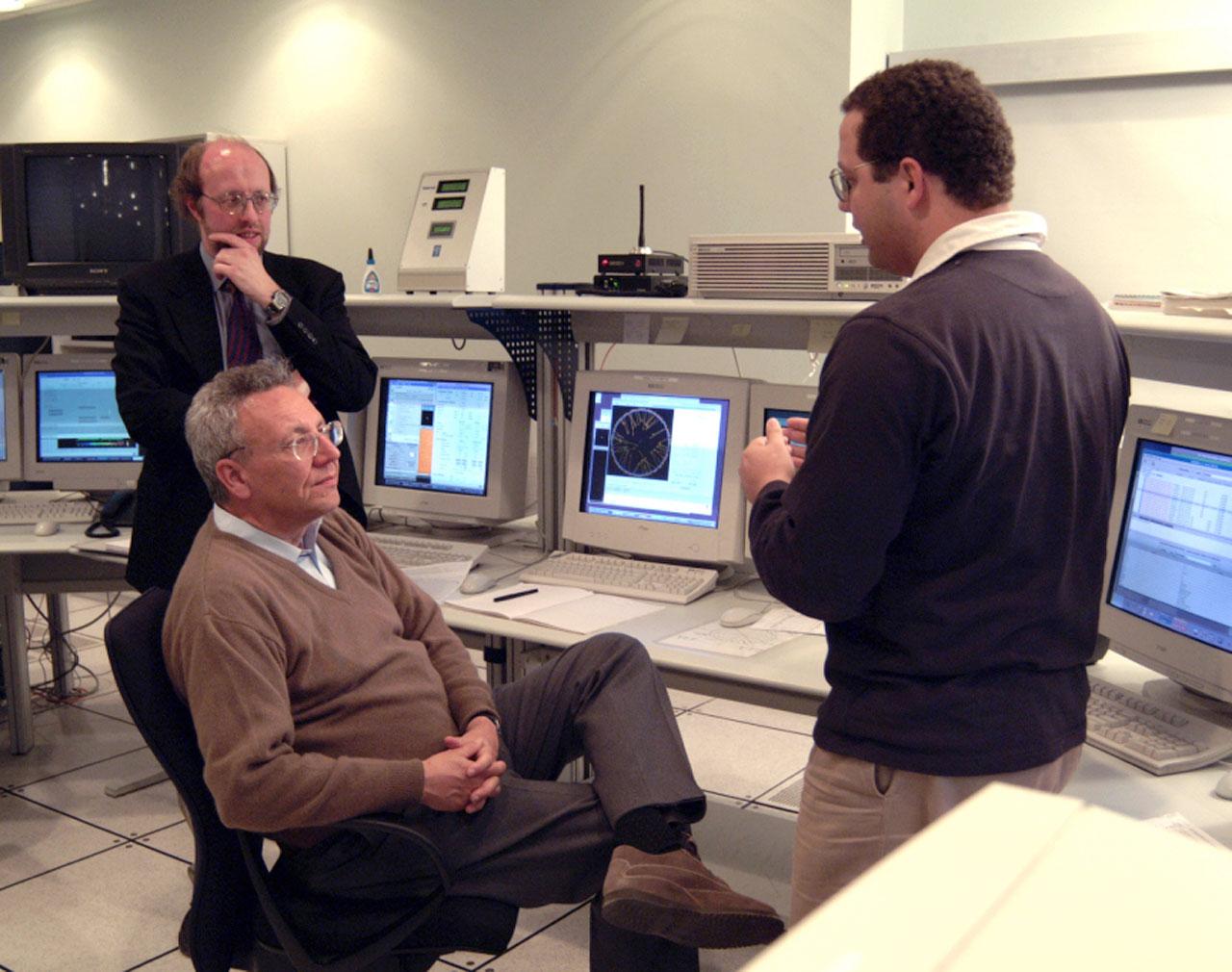 Commissioner Busquin visits Paranal IV