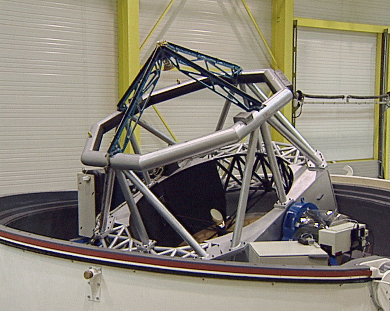 The 1.8-m AT1 at the AMOS factory