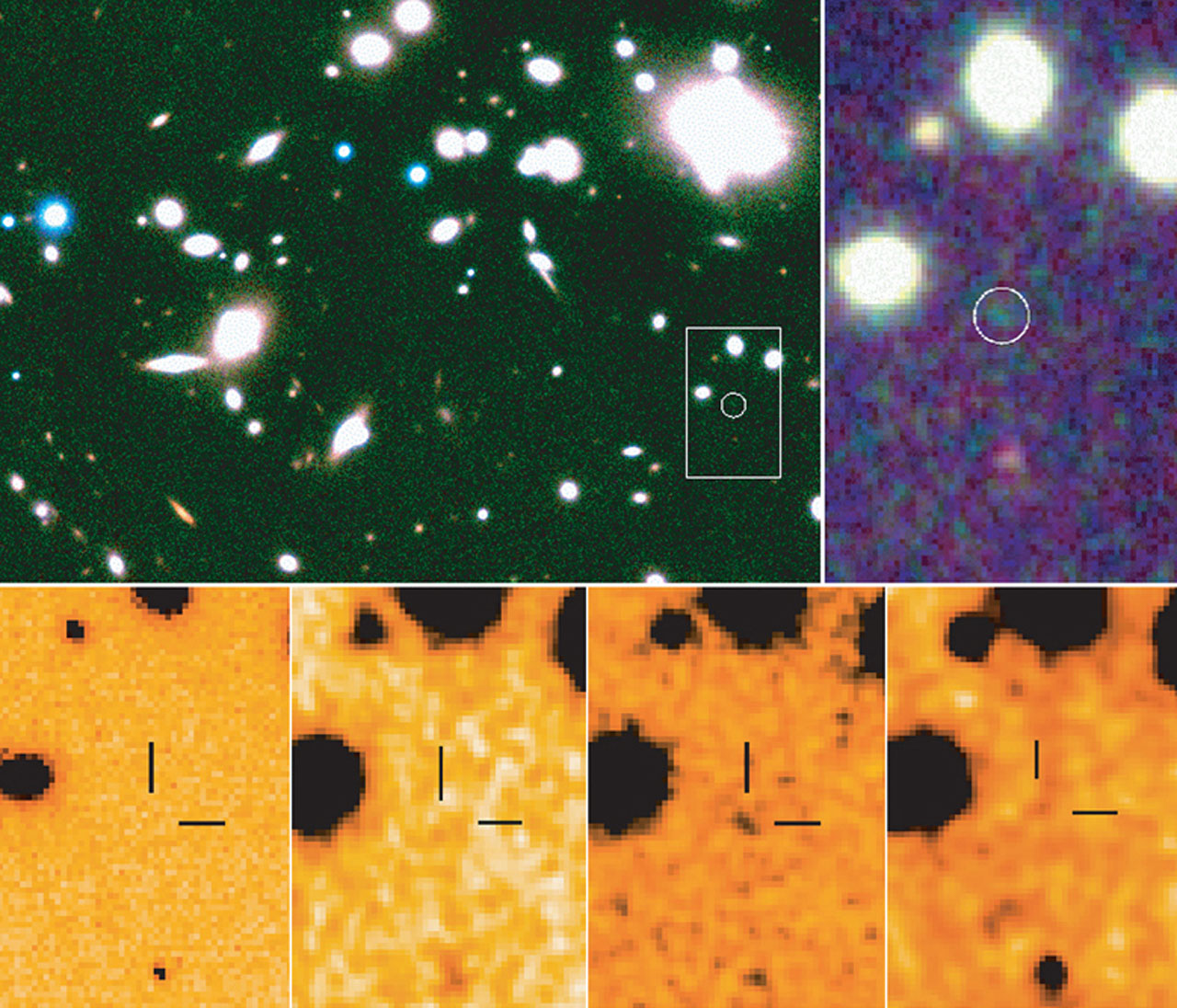 ISAAC images of Abell 1835