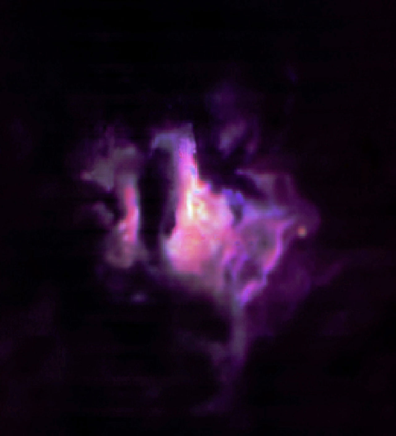 Colour Composite of the Star Forming Region G333.6-0.2