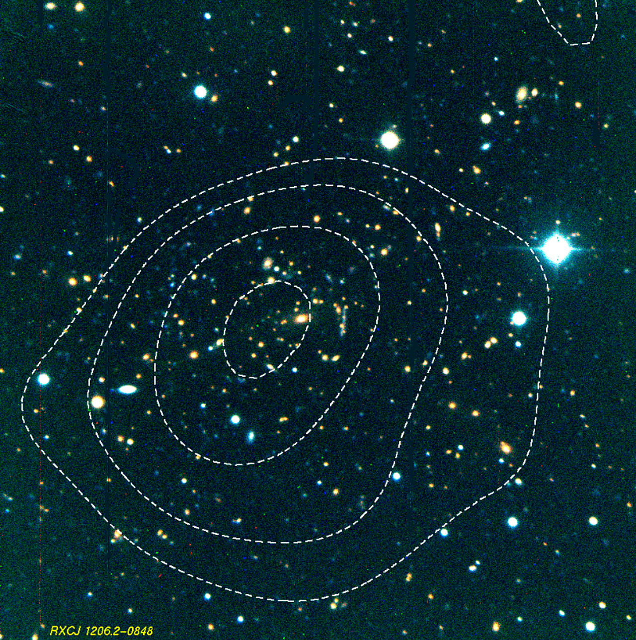 Massive Cluster of Galaxies RXCJ1206.2-0848