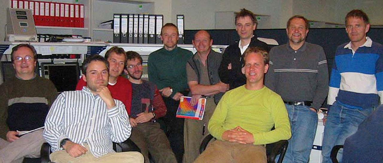 Members of the SINFONI Adaptive Optics Module Commissioning Team