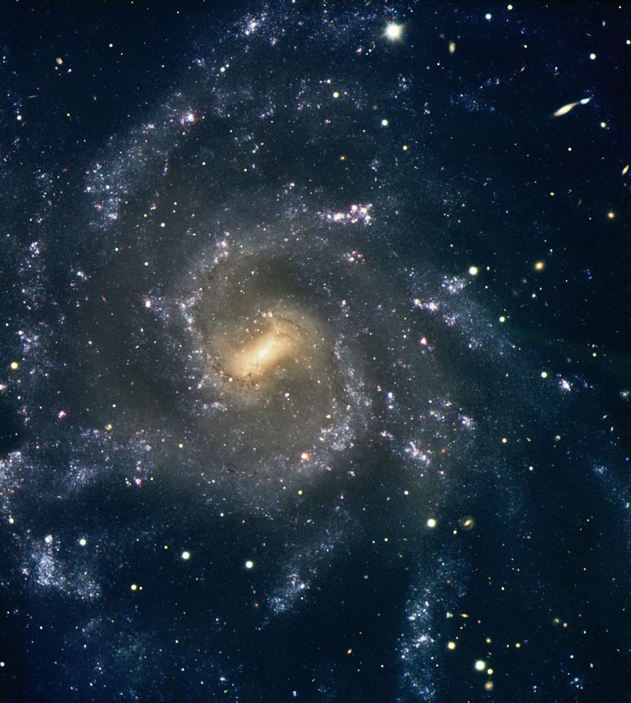 Magnificent Spiral Galaxy NGC 7424