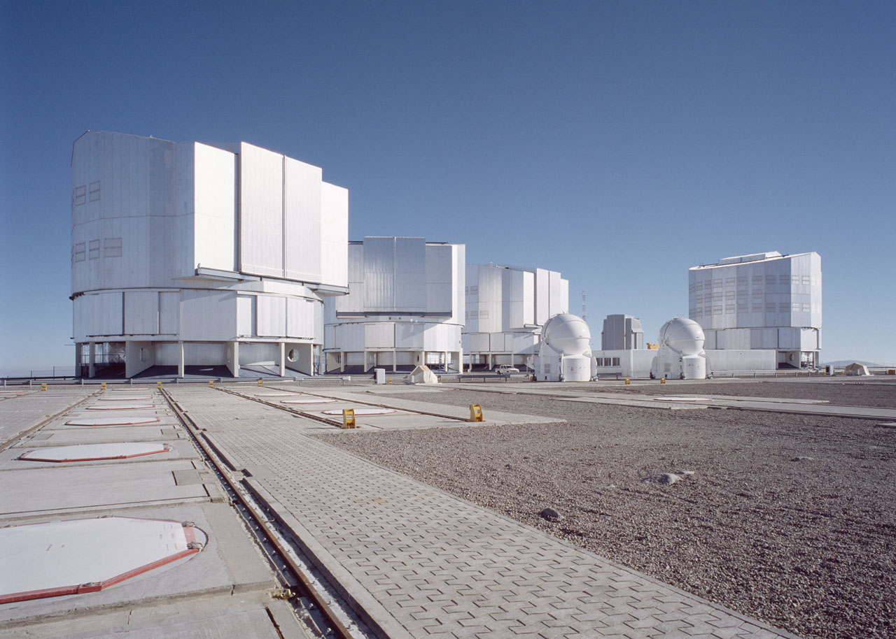 Paranal Observing Platform with AT1 and AT2