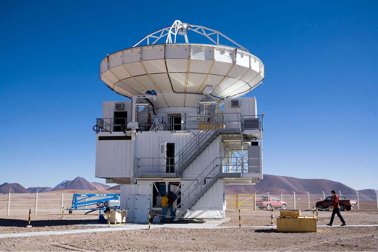 The APEX Telescope