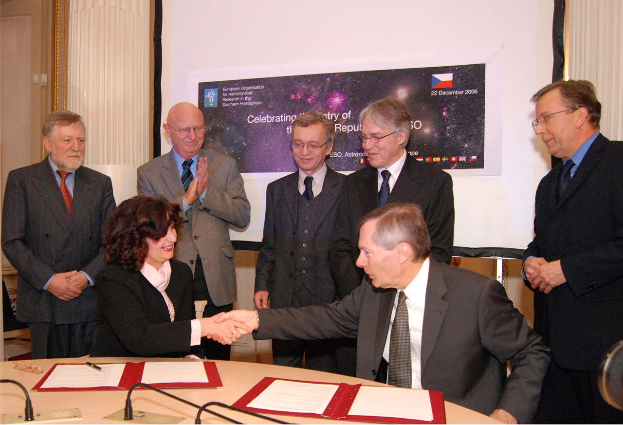 Czech Republic to Become Member of ESO
