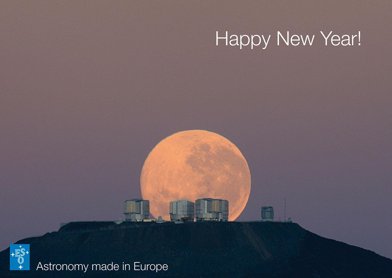 Season's Greetings A Happy New Year!