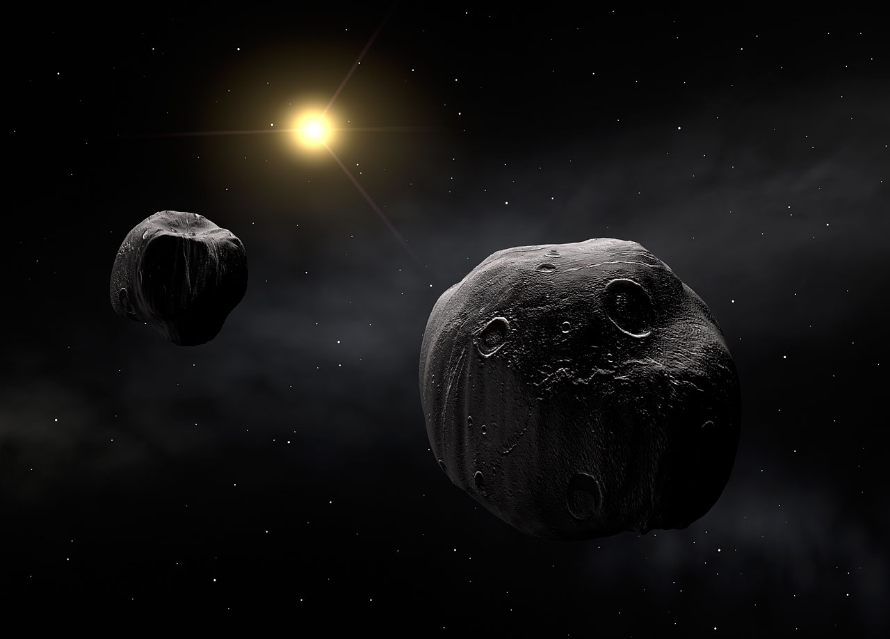 The double asteroid Antiope