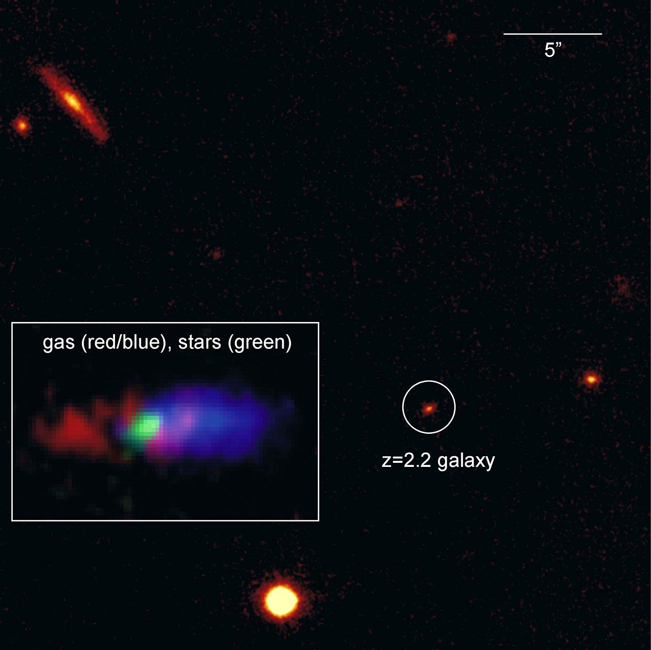 The Distant Galaxy K20-ID5