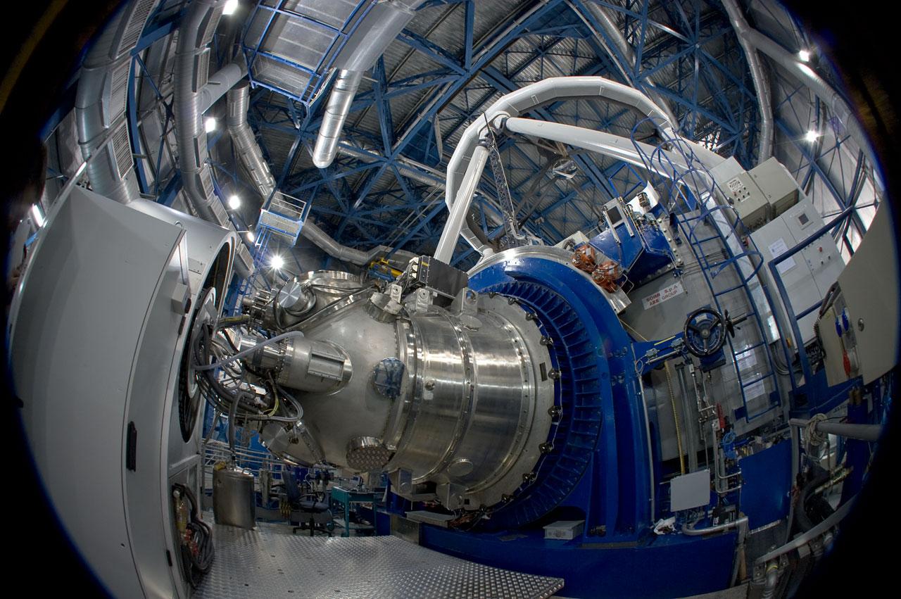 El Instrumento HAWK-I en el VLT