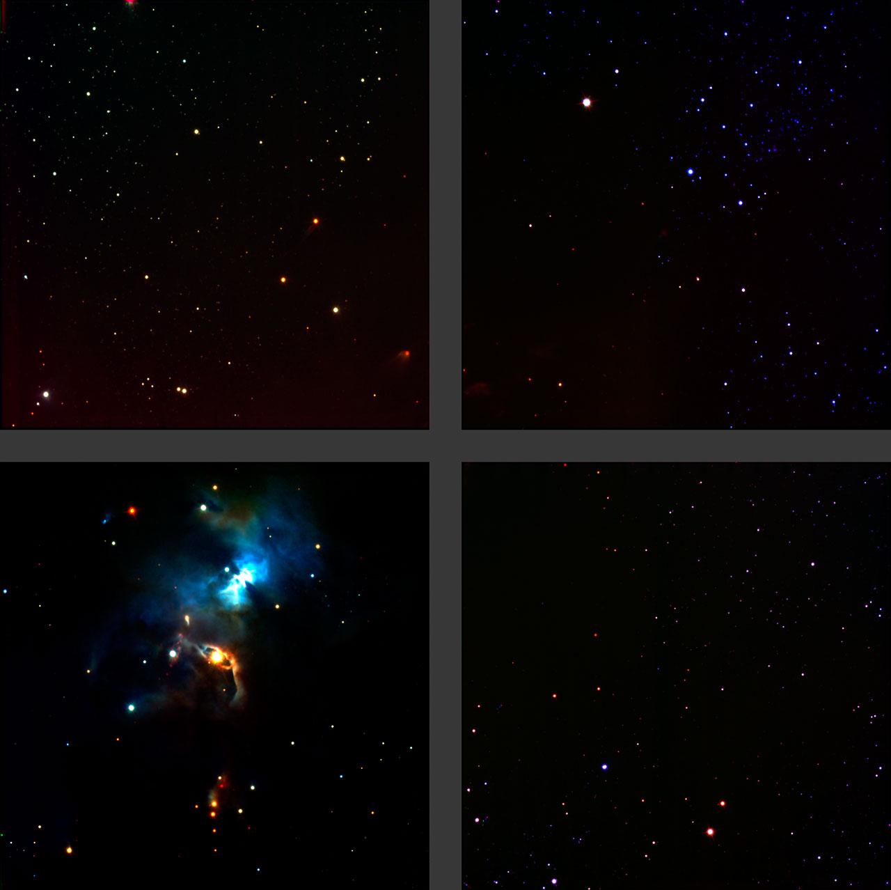 Región de formación de estrellas Serpens (HAWK-I/VLT)