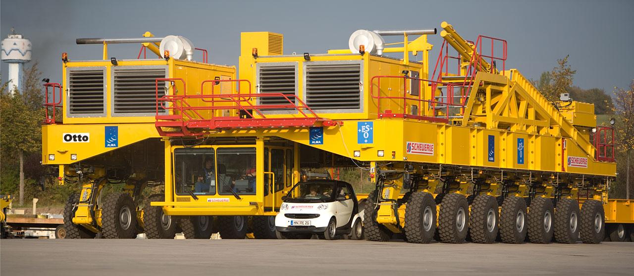 The ALMA Antenna Transporter