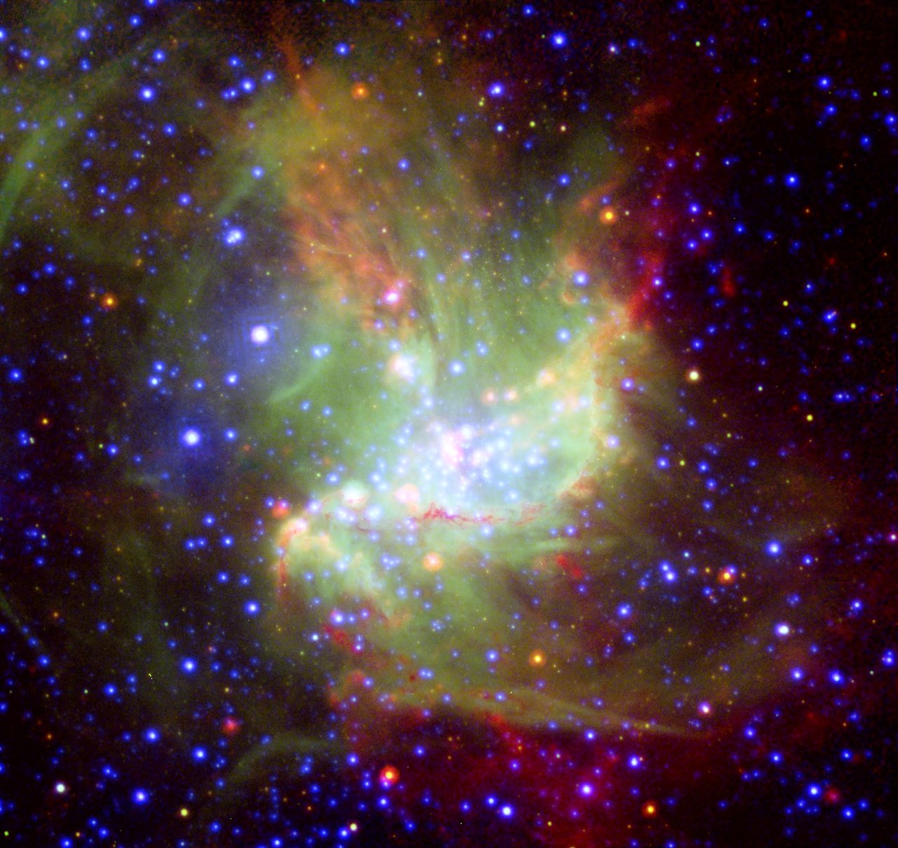 Star-Forming Region NGC 346