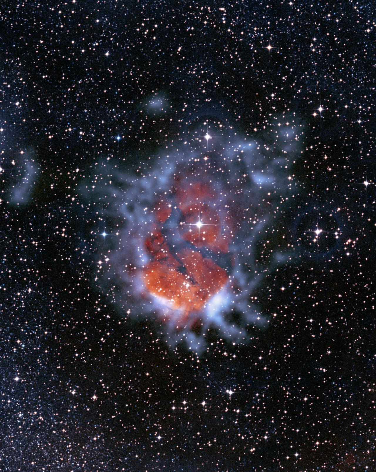 Mounted image 026: Glowing stellar nurseries