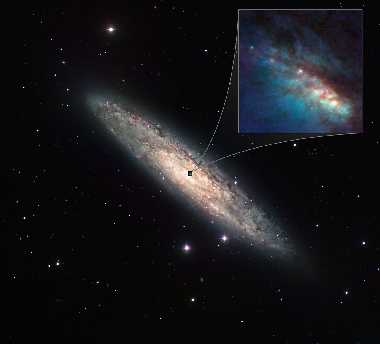 The Starburst Galaxy NGC 253