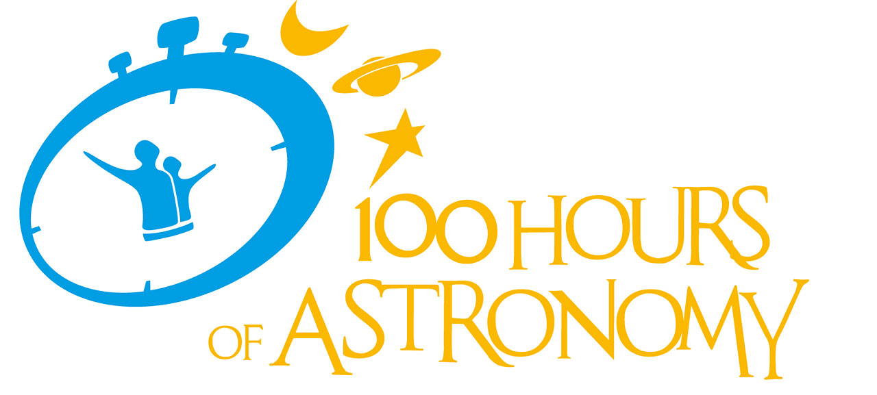 100 Hours of Astronomy Logo