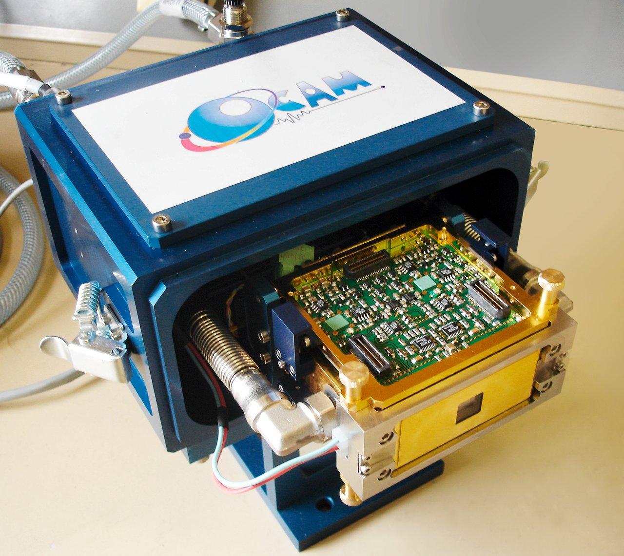 La cámara OCam: Una cámara que sobrepasa a las estrellas centelleantes