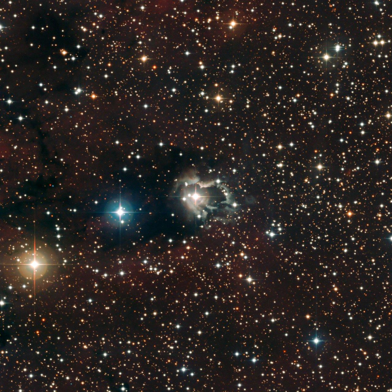 Nebulosa de reflexión alrededor de HD 87643