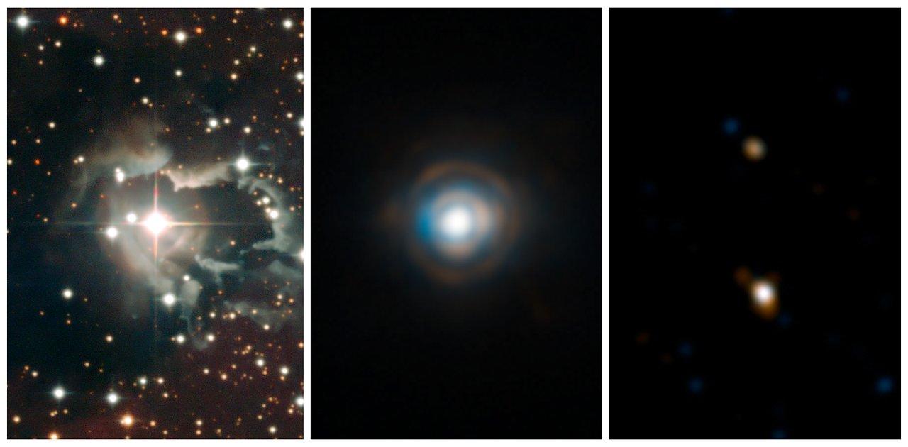Acercamiento compuesto a la estrella doble HD 87643